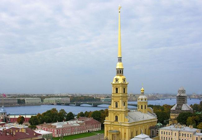 Петропавловская крепость фото в хорошем качестве