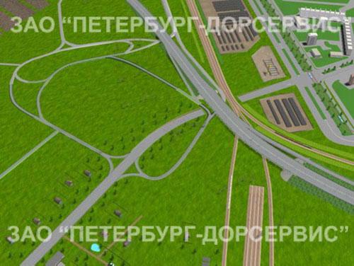 Транспортная развязка в районе